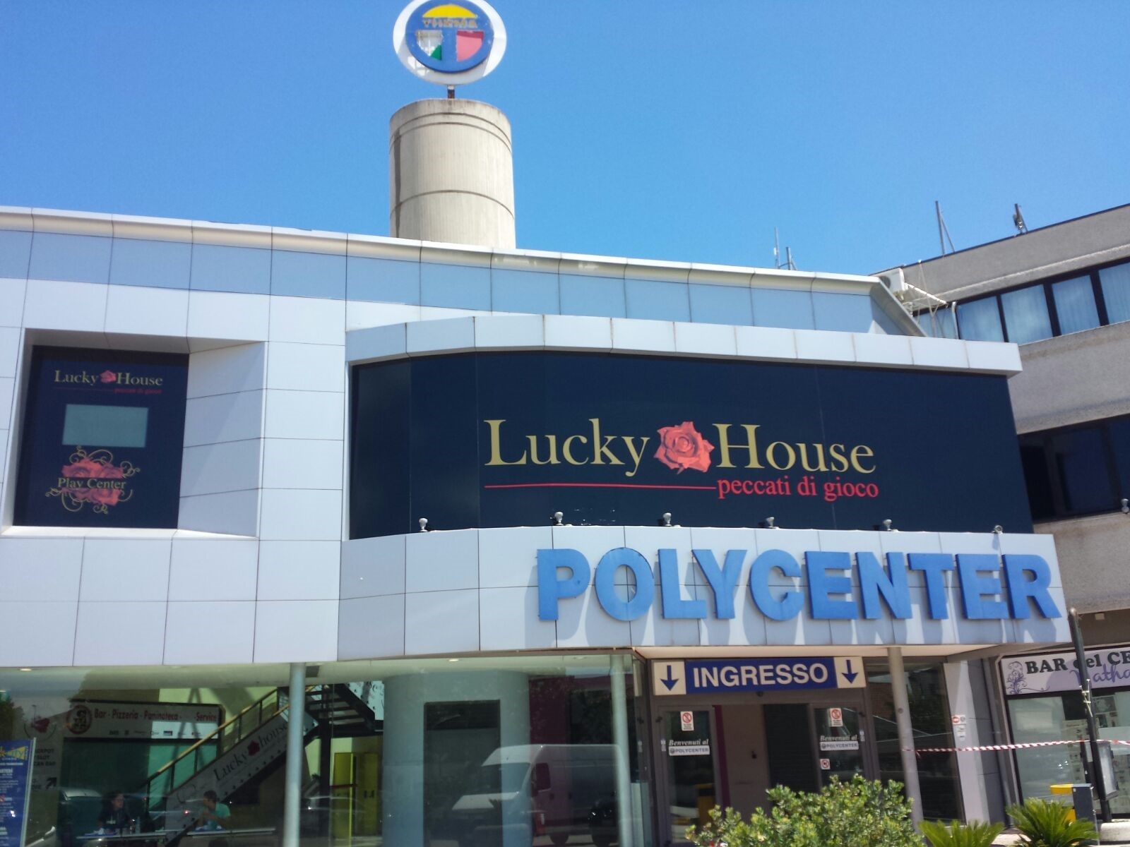 Lucky house e group Unlucky house